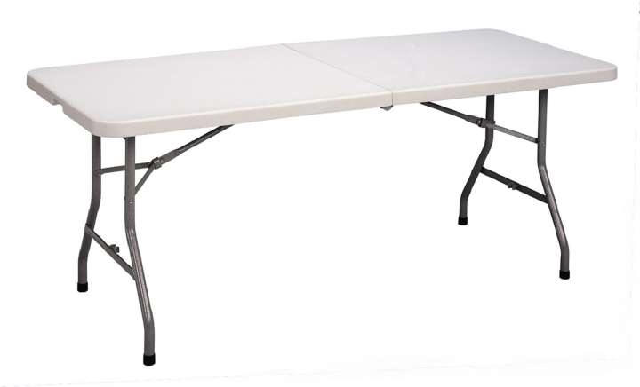 Ideal For Limited Storage Concerns, Plastic Folding Tables