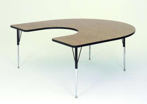Folding tables plastic folding tables laminated for Table retractable